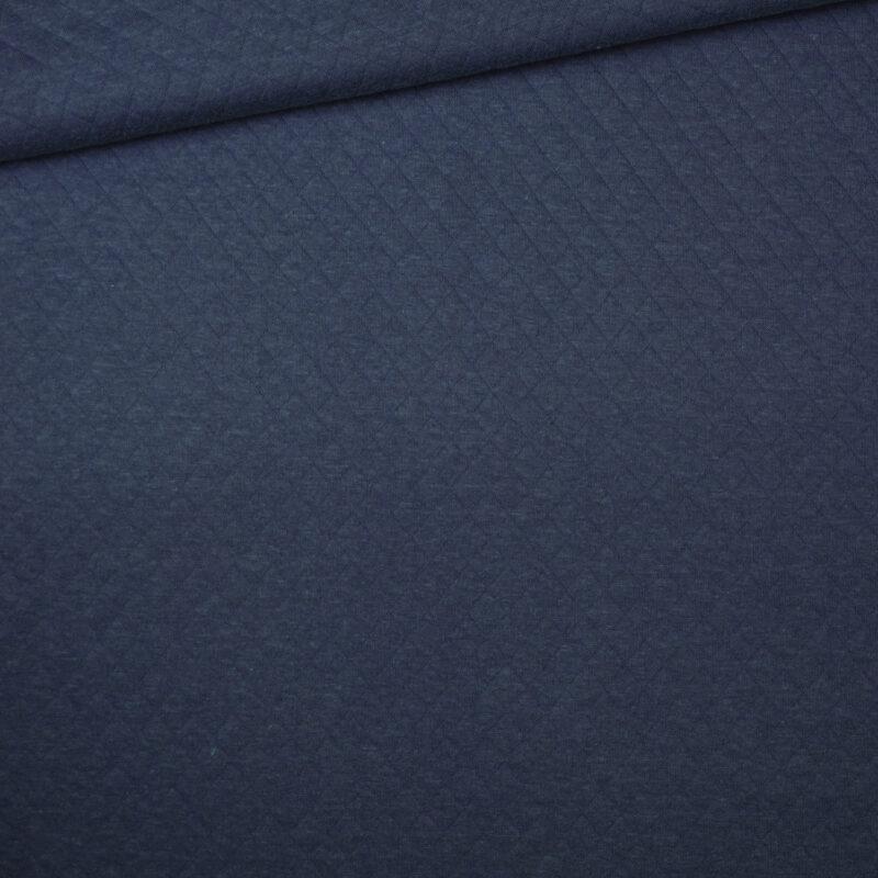 Steppstoff - Jeansblau